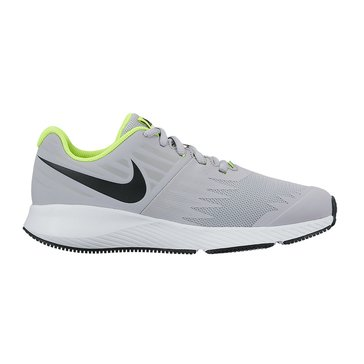 Nike Star Runner Boys' Running Shoe Wolf Grey/ Black
