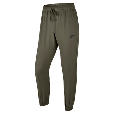 Nike Men's Woven Players Jogger Top - Olive