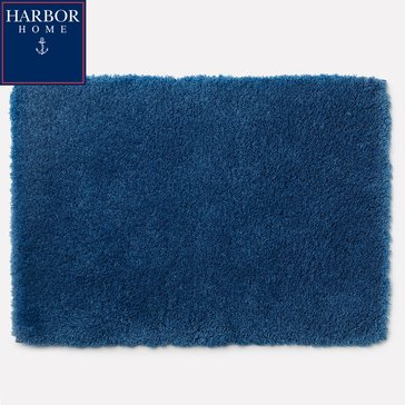 Harbor Home 24X40 Bath Rug, Azure
