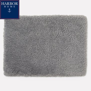 Harbor Home 24X40 Bath Rug, Grey