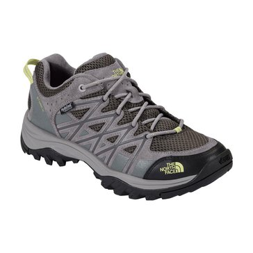 The North Face Storm III Women's Waterproof Hiking Shoe Dark Gull Grey/Chiffon Yellow
