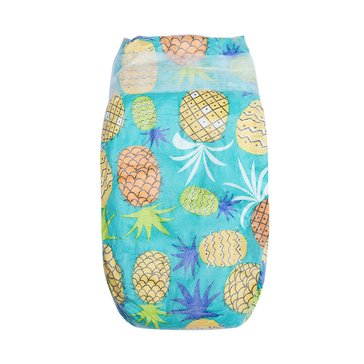 The Honest Company Diapers, Pineapples - Size 4, 29-Count