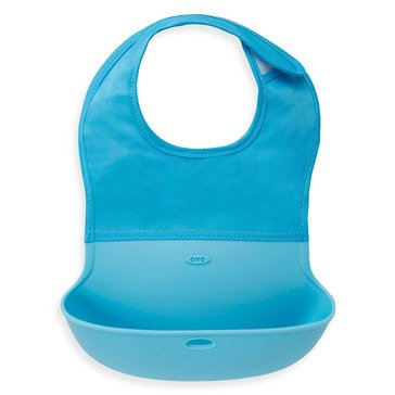OXO TOT Roll Up Bib, Aqua