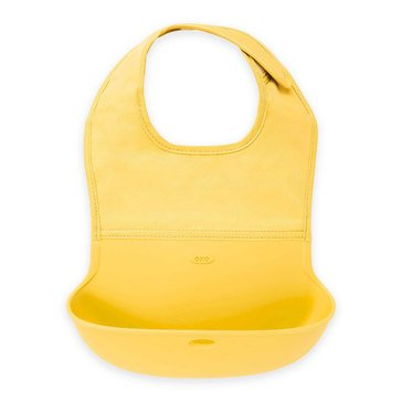 OXO TOT Roll Up Bib, Yellow