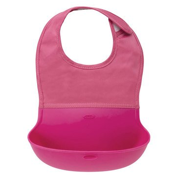 OXO TOT Roll Up Bib, Pink