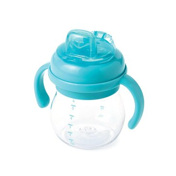 OXO TOT Soft Spout With Handles, 6oz, Aqua