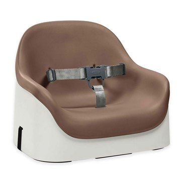 OXO TOT Nest Booster Seat With Strap, Taupe