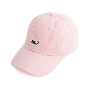Vineyard Vines Whale Logo Baseball Hat in Flamingo