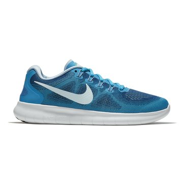 Nike Free RN 2 Women's Running Shoe Gym Blue/ Glacier Blue/ Blue Orbit