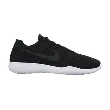Nike Free TR Flyknit 2 Women's Training Shoe Black/ Black/ White