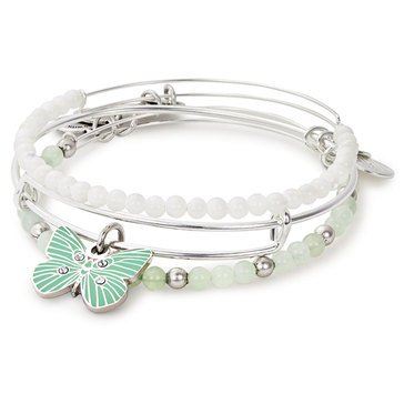 Alex and Ani Butterfly Bangles, Set of 3