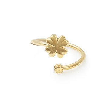 Alex and Ani Four Leaf Clover Wrap Ring