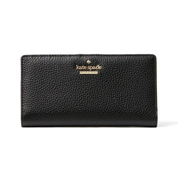 Kate Spade Jackson Street Money Piece Wallet Stacy Black