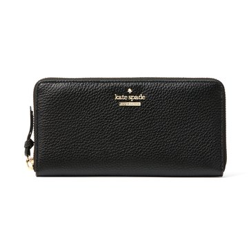 Kate Spade Jackson Street Money Piece Wallet Lacey Black
