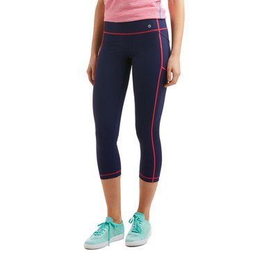 Vineyard Vines Performance Crop Legging in Deep Bay