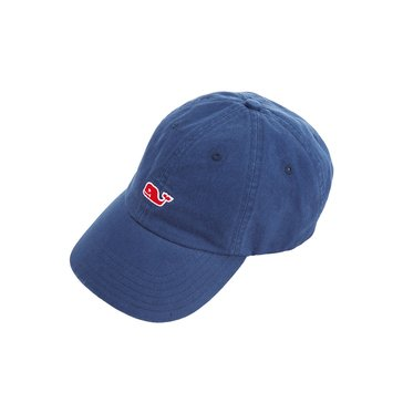 Vineyard Vines Classic Washed Baseball Hat in Baltic Blue