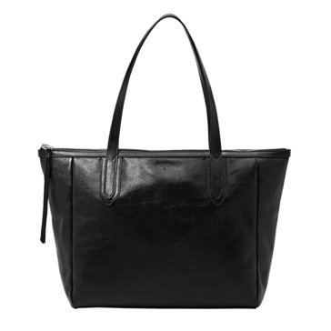 Fossil Military Sydney Shopper Tote Black