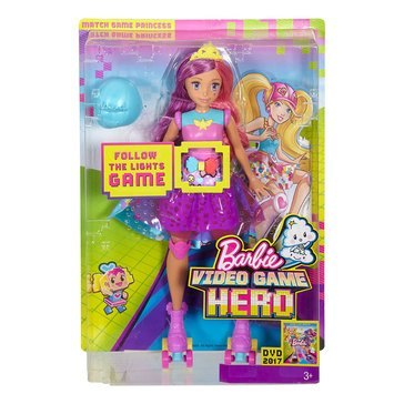 Barbie Video Game Hero Match Game Princess Doll