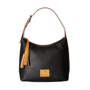 Dooney & Bourke Pebble Paige Satchel Black