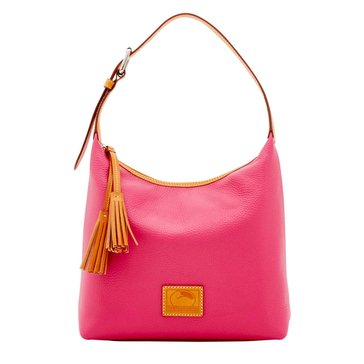 Dooney & Bourke Pebble Paige Satchel Hot Pink