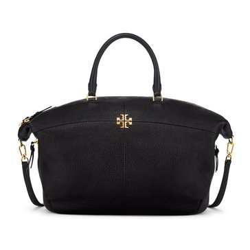 Tory Burch Ivy Slouchy Satchel Black