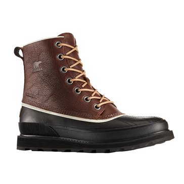 Sorel Madson 1964 Men's Waterproof Hiker Boot Elk/ Black