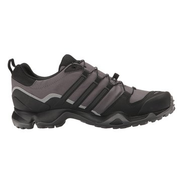 Adidas Outdoor Terrex Swift R Men's Hiking Shoe Granite/ Black/ Solid Grey