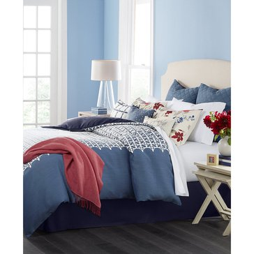 Martha Stewart Collection Madeline 10-Piece Comforter Set - King