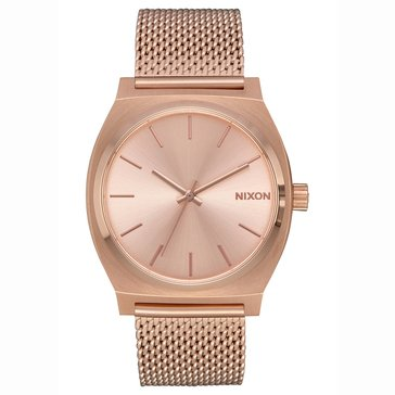 Nixon Women's Time Teller Luxe Watch A1187-897, Rose Gold 37mm