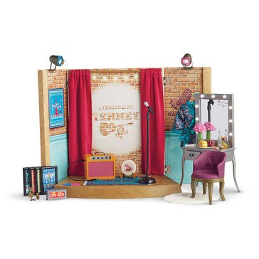 American Girl Tenney's Stage & Dressing Room Set