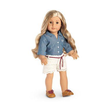 American Girl Tenney's Picnic Outfit