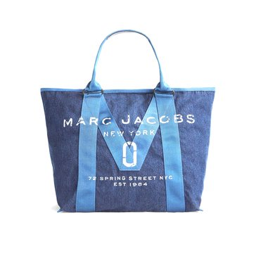 Marc Jacobs New Logo Tote Denim