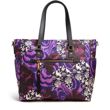 Marc Jacobs Tapestry Printed Trooper Baby Bag Black