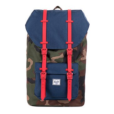 Herschel Little America Backpack - Camo/Navy/Red