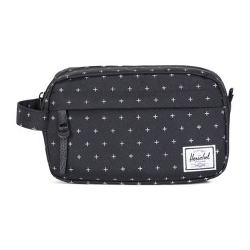 Herschel Chapter Travel Kit - Black Gridlock