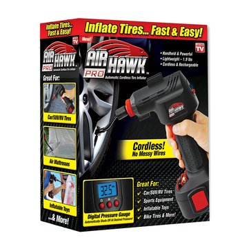 As Seen On TV Air Hawk Automatic Cordless Tire Inflator