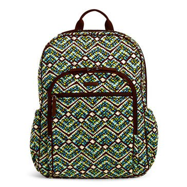 Vera Bradley Campus Tech Backpack Rain Forest