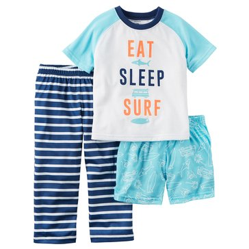 Carter's Baby Boys' 3-Piece Sleepwear Set