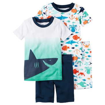Carter's Baby Boys' 4-Piece Sleepwear Set