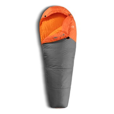 The North Face Aleutian 40/4 Sleeping Bag - Monarch Orange/Zinc Grey - Long