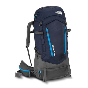 The North Face Terra 50 Backpack - Urban Navy / Hyper Blue - Large / X Large