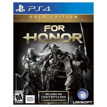PS4 For Honor: Gold Edition
