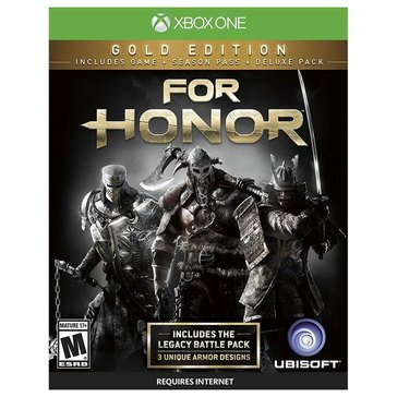 Xbox One For Honor: Gold Edition