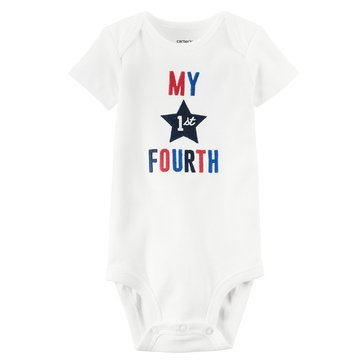 Carter's Newborn My First Fourth of July Bodysuit