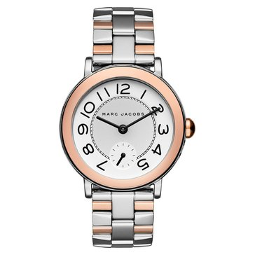 Marc Jacobs Roxy Stainless Steel Tose Two Tone Watch 36mm