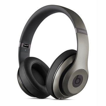 Beats by Dr. Dre Studio Wireless Headphones - Titanium (MHAK2AM/B)