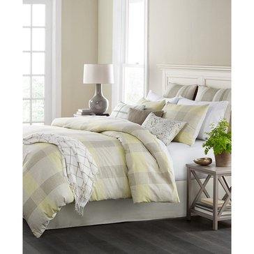 Martha Stewart Collection Everett Plaid 10-Piece Comforter Set - Queen