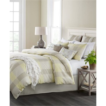 Martha Stewart Collection Everett Plaid 10-Piece Comforter Set - King