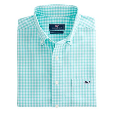 Vineyard Vines Men's Elmont Gingham Classic Murray Sportshirt