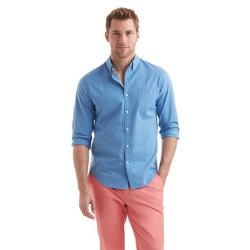 Vineyard Vines Men's Heathered Slim Tucker Sportshirt